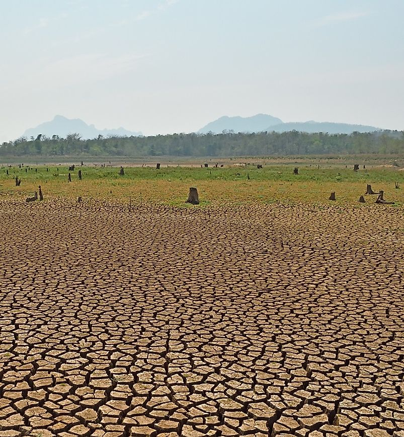 In many parts of the world, climate change is quickening the spread of drought and desertification into once fertile areas.
