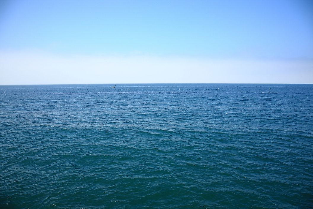 The Pacific Ocean is the world's largest and deepest ocean.