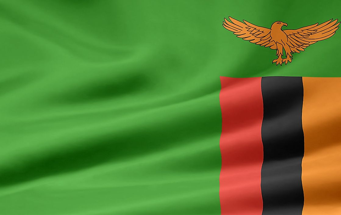 Then flag of Zambia.