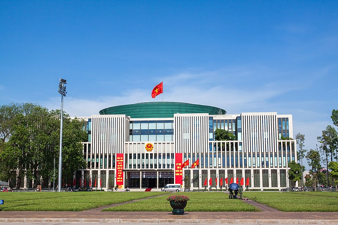 The National Assembly of Vietnam. Editorial credit: Aoshi VN / Shutterstock.com.