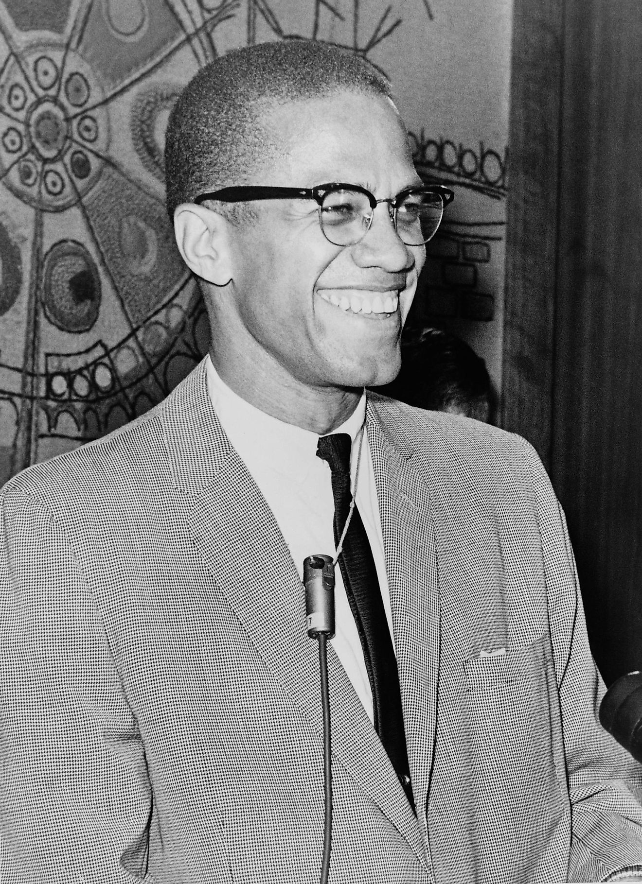 Malcolm X. Image credit: Ed Ford, World Telegram staff photographer / Public domain