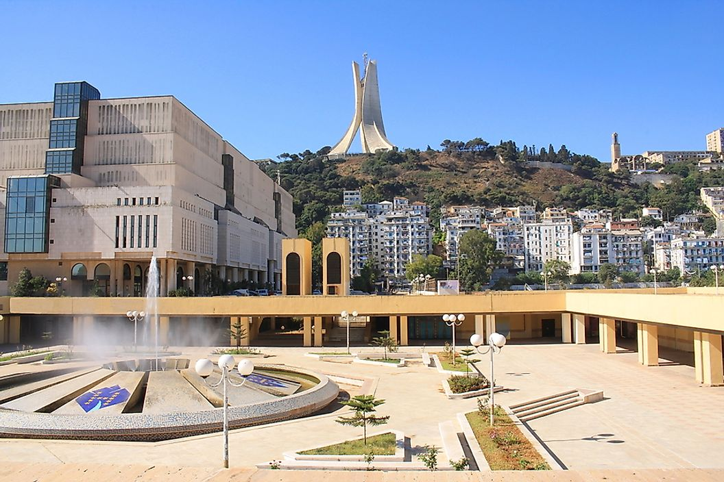 Algiers is the capital of Algeria, the country with the highest life expectancy in Africa.