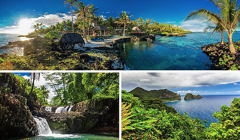 The scenery of Samoa.