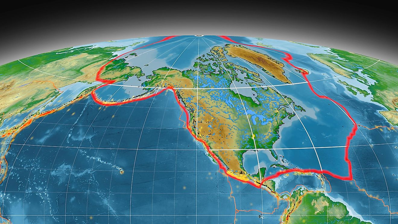 The plate tectonics theory has been widely accepted among scientists since the middle of the 20th century.