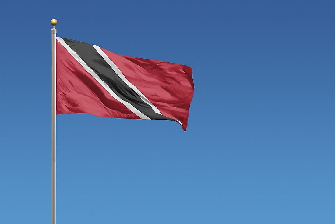 The flag of Trinidad and Tobago.