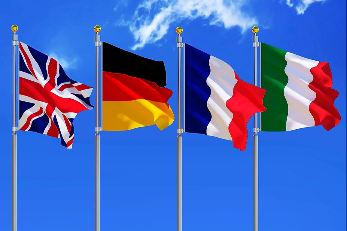 The EU4 comprises of the United Kingdom, Germany, France, and Italy.