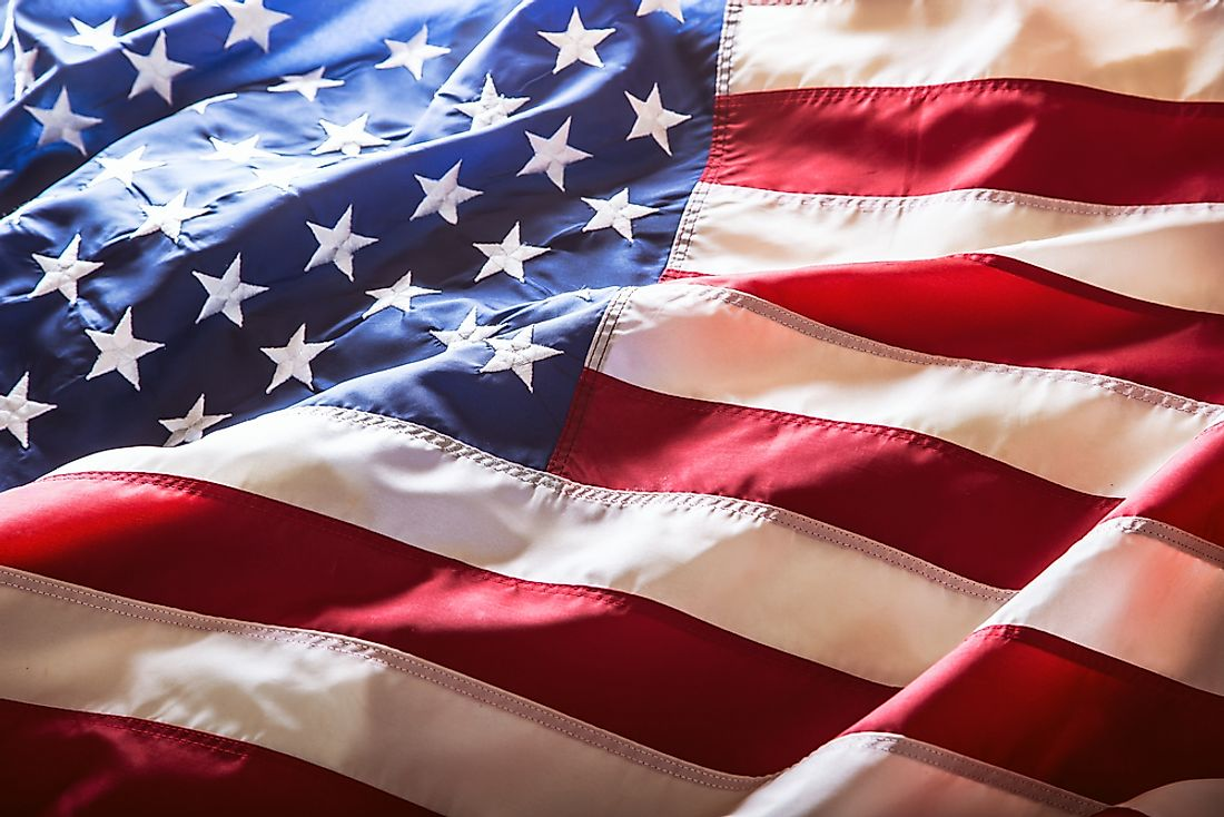 The US flag is also known as the Star-Spangled Banner.