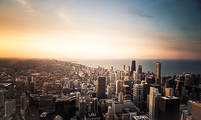 Chicago, the biggest city in Illinois, is an important financial, educational, and administrative hub in the state.