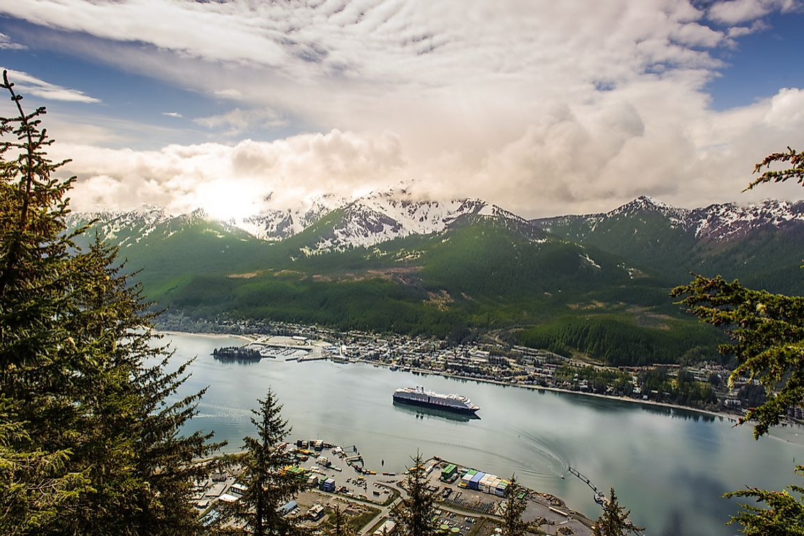 Juneau is Alaska's capital and second-largest city by population.