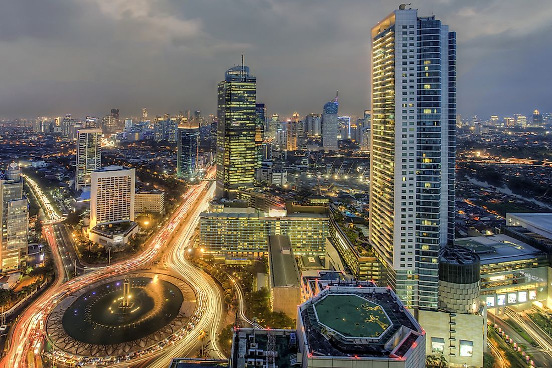 Jakarta horizon. With longstanding tensions with their neighbors in Oceania and and a mistrust for Western powers, Indonesia is on the bottom rung for ODA receipts.