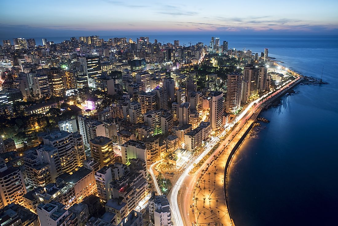 Beirut, the capital of Lebanon.