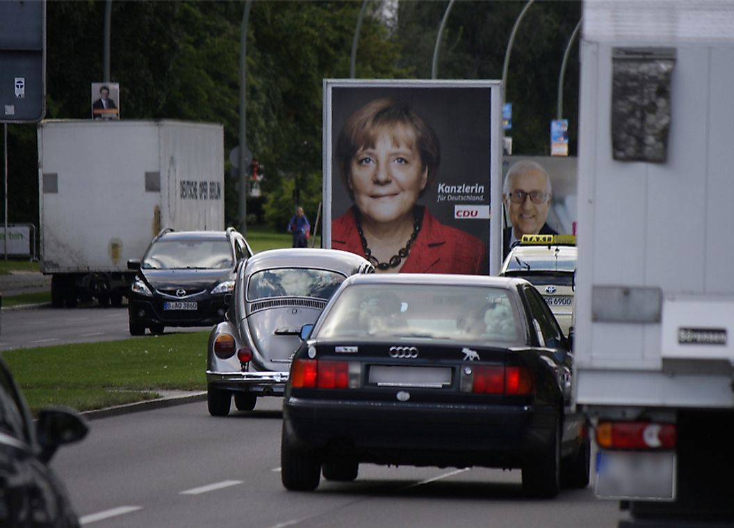 Angela Merkel has served as Chancellor of Germany since 2005.