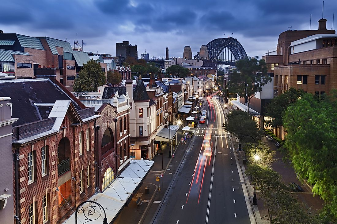 Sydney is the most populated city in Australia and is located in New South Wales, the most populated Australian state.