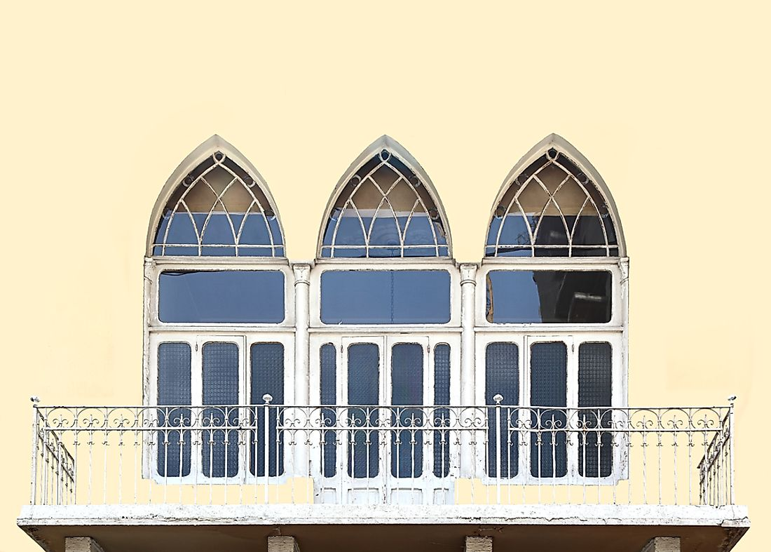 Windows in Beirut, one of the New7Wonders cities.