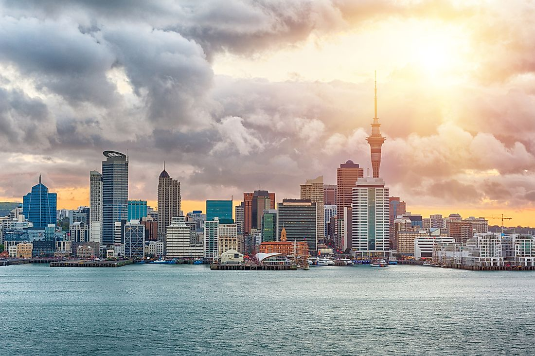 Auckland is the largest city in New Zealand.