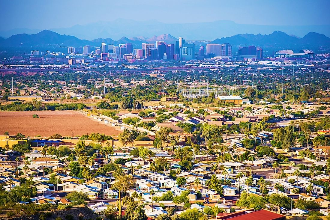 "The city of Phoenix, Arizona is known to many as the ""Valley of the Sun."""