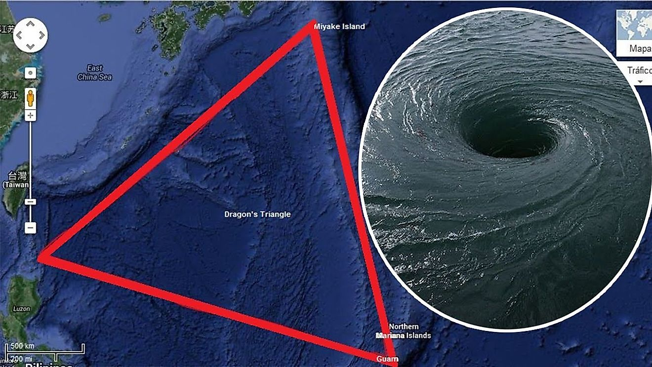 Similar to the Bermuda Triangle, this vortex causes planes to drop from the sky, submarines and huge ships to go missing, and is generally a scary place that everyone avoids.