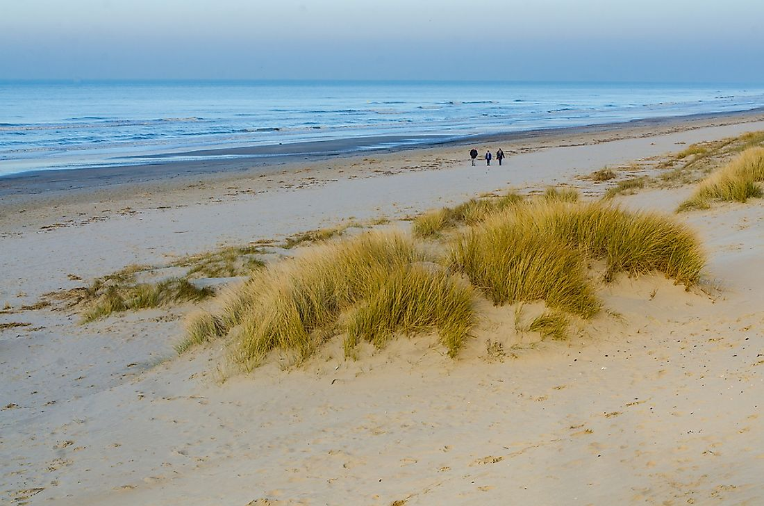 Bray-Dunes, the northernmost place in France.