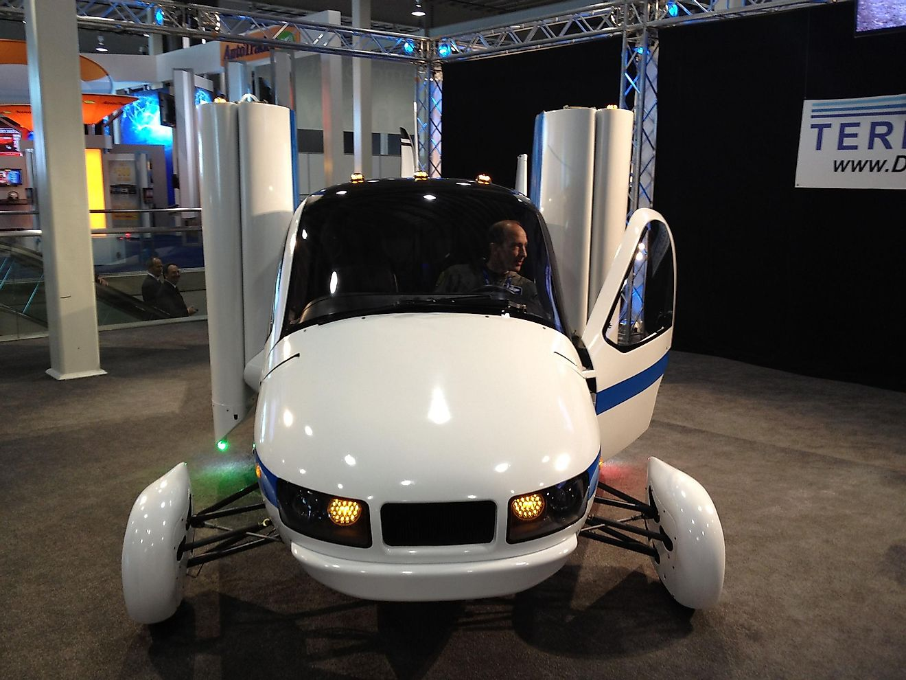 Producing flying cars in incredibly expensive. Image credit: wikimedia.org