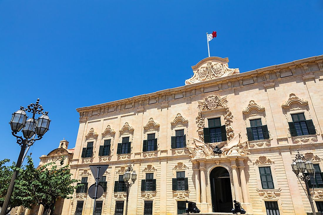 The office of the prime minister of Malta.