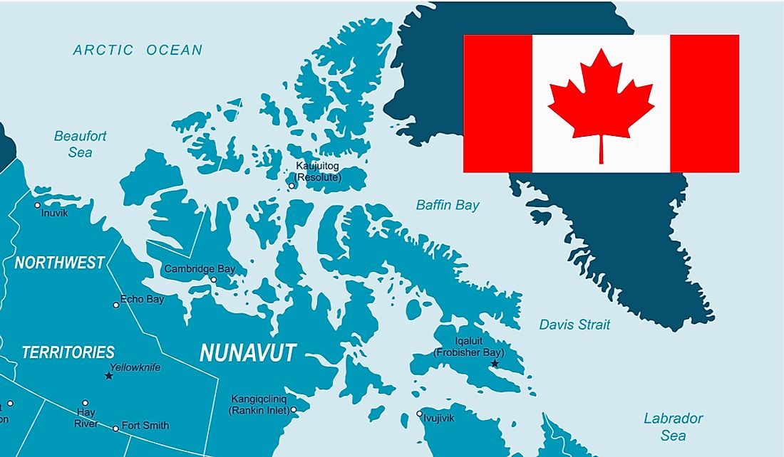 Canadian Arctic Archipelago consists of 94 major islands and 36,469 minor islands north of mainland Canada.