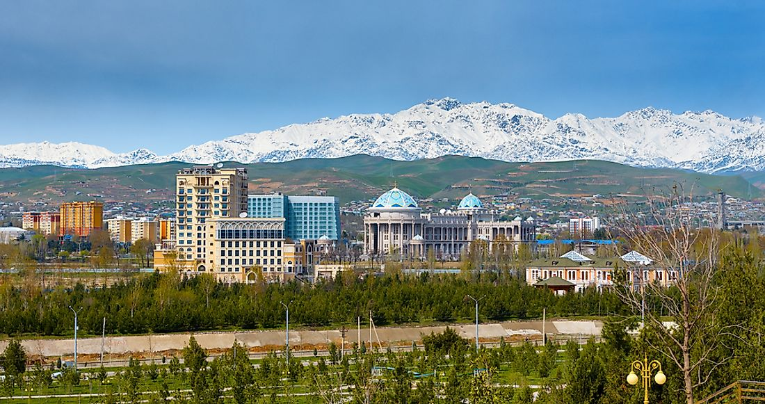Dushanbe has seen rapid population growth over the past twenty years. Editorial credit: Truba7113 / Shutterstock.com