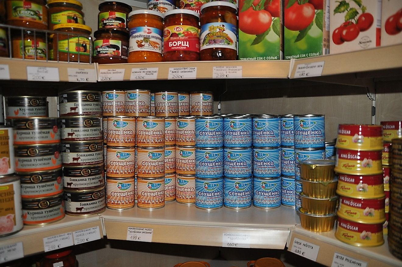 Canned food is a great boon during times of need. Image credit: Tatianawillmann from Pixabay