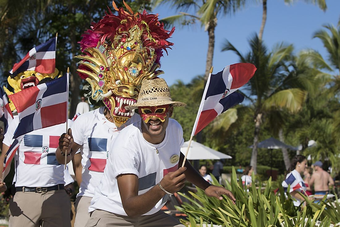 Independence Day celebrations in the Dominican Republic. Editorial credit: Tina Andros / Shutterstock.com.
