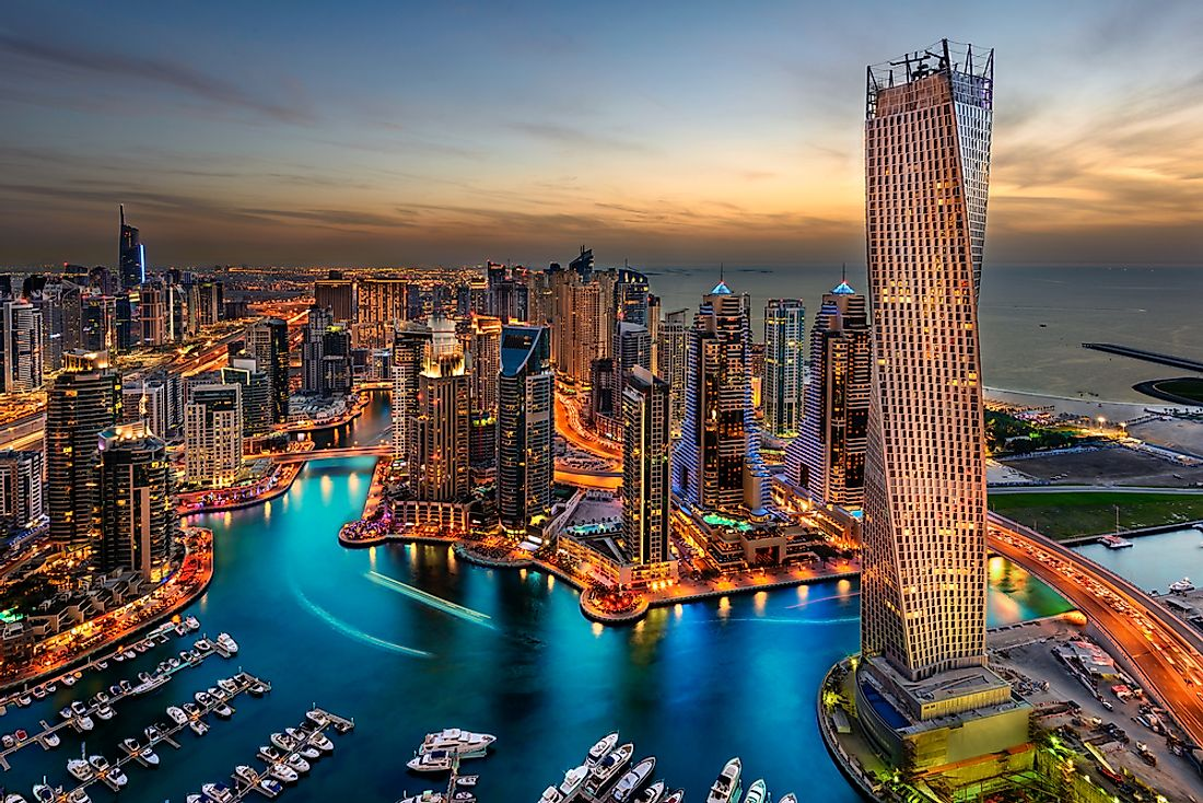 Dubai is home to one of the world's most iconic skylines.