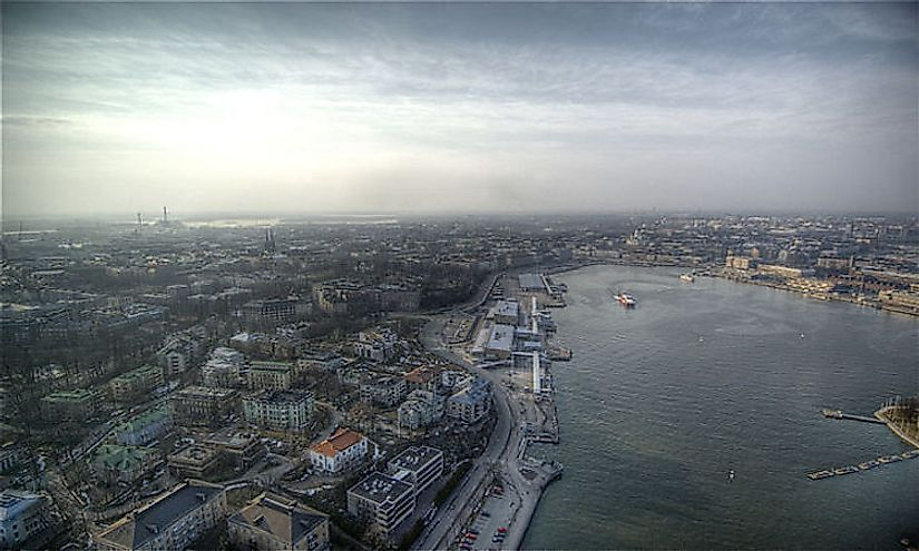 Helsinki in Finland is the capital city and financial capital of Finland.