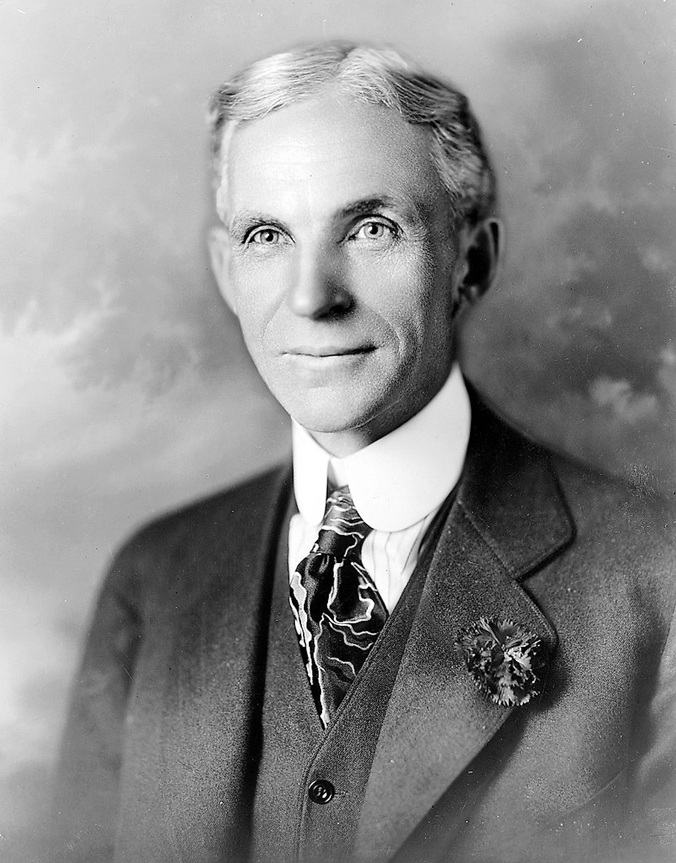Portrait of Henry Ford. Image credit: Hartsook/Public domain