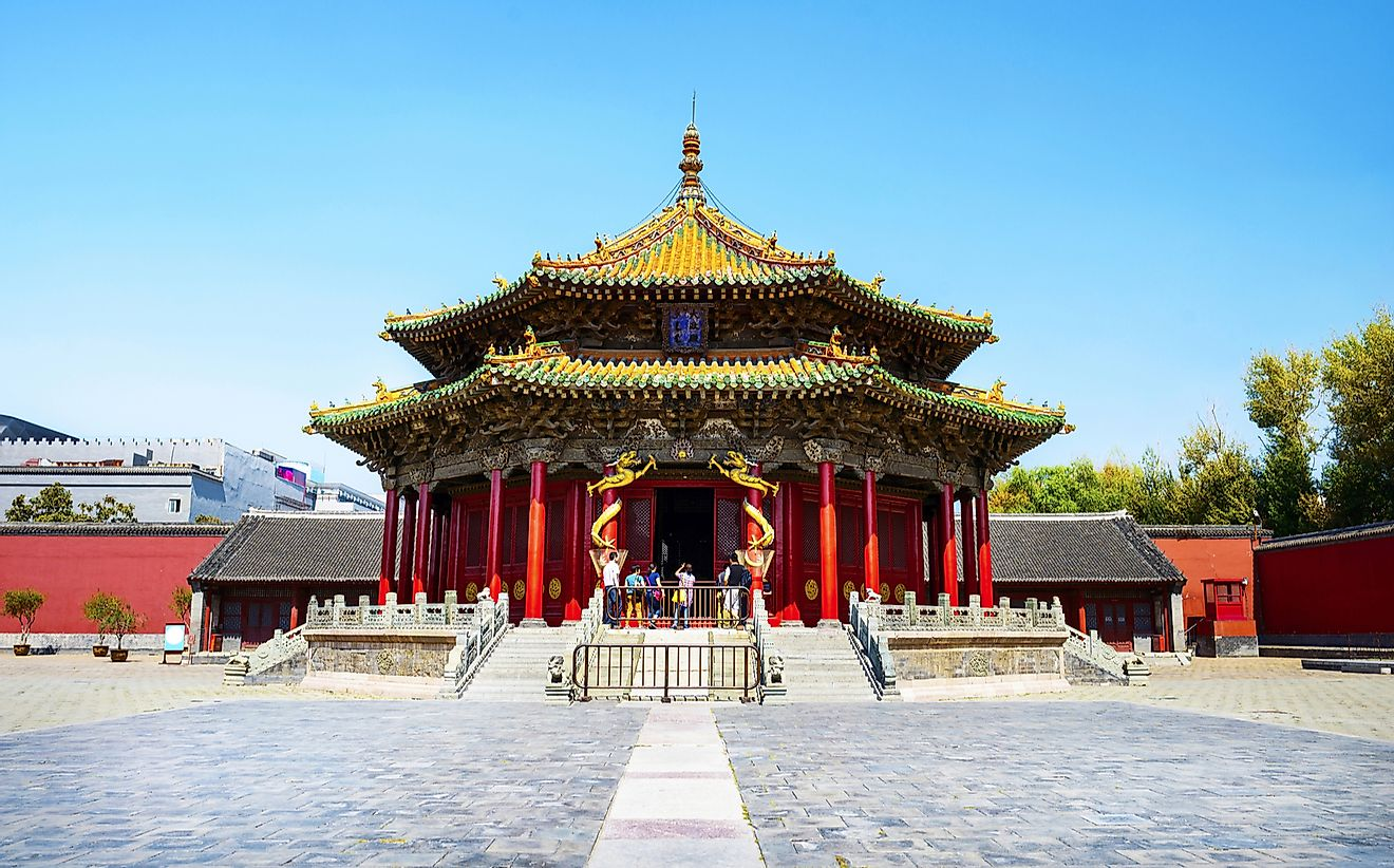 The Imperial Palace of the Qing Dynasty.