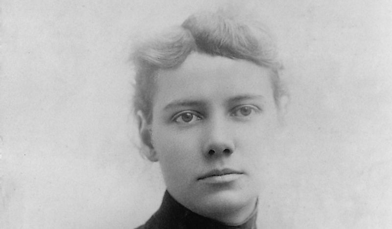 Portrait of Nellie Bly.