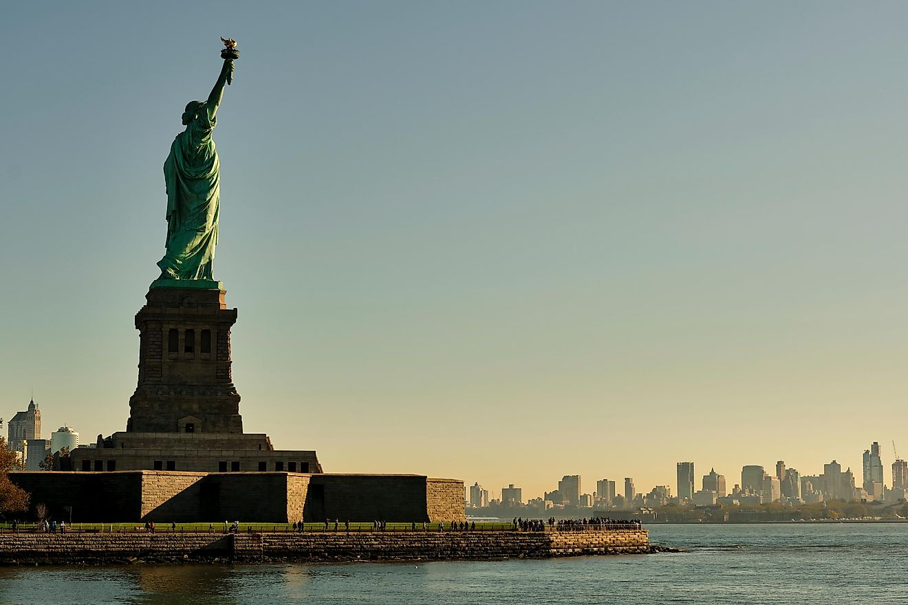 Statue of Liberty, New York, US. Image credit: Rujipart/Shutterstock