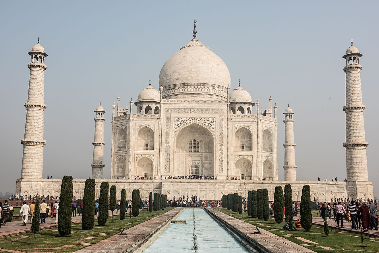 For hundreds of years, India's Taj Mahal has been considered one of the world's greatest architectural marvels. It is a UNESCO World Heritage Site.