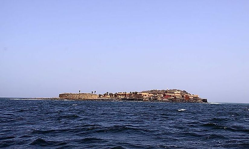 ​The Island of Goree, a UNESCO World Heritage Site in Senegal