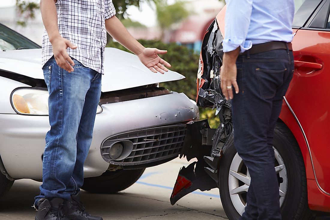 "The most common victim of roadside accidents and deaths are ""vulnerable road users,"" a term which includes pedestrians, cyclists, or operators of other two-wheeled vehicles."