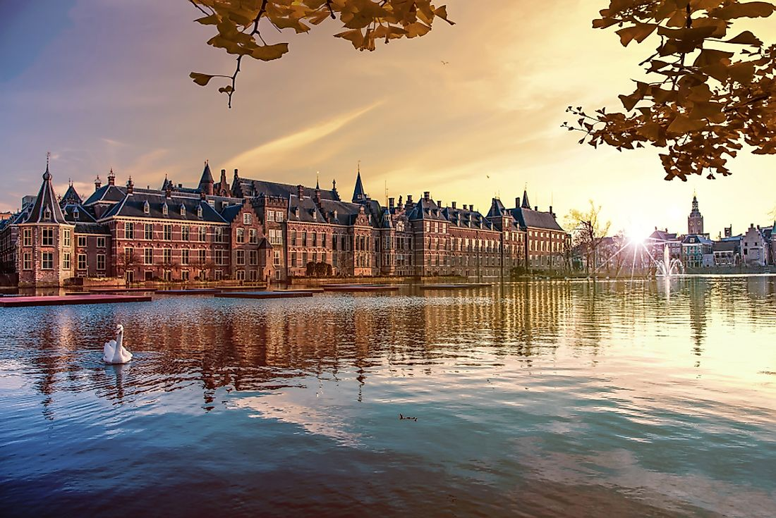 Binnenhof - the Dutch Parliament in The Hague, Netherlands