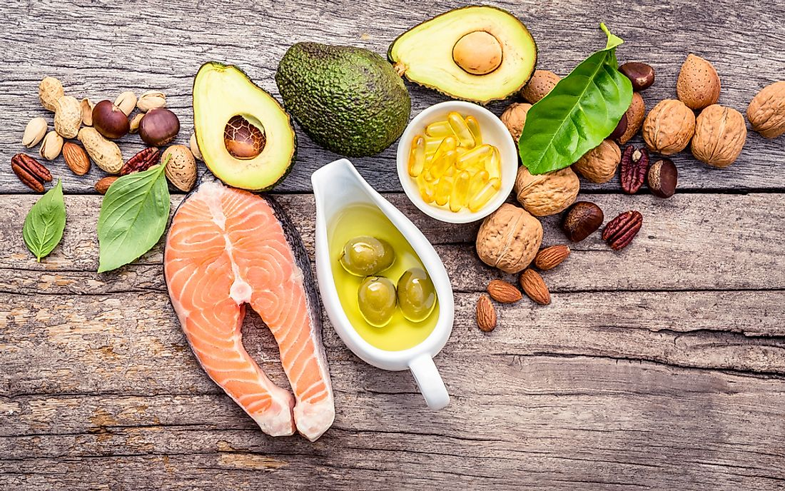 Fat in diet can be healthy as long it is the right type of fat.