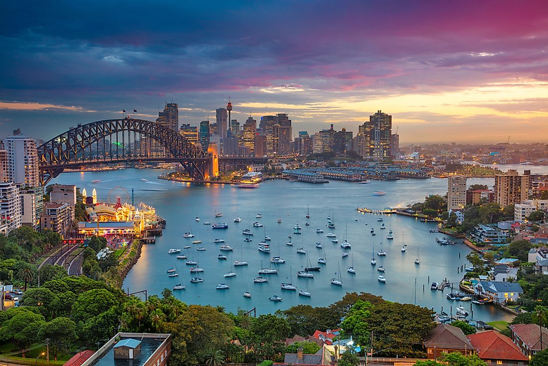Australia received more than 7 million visitors in 2017.