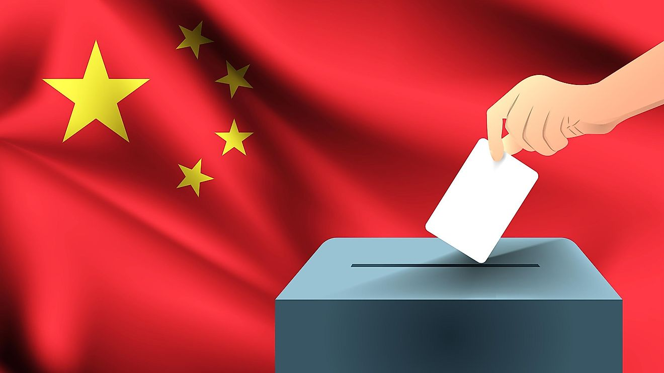 There are elections in China.