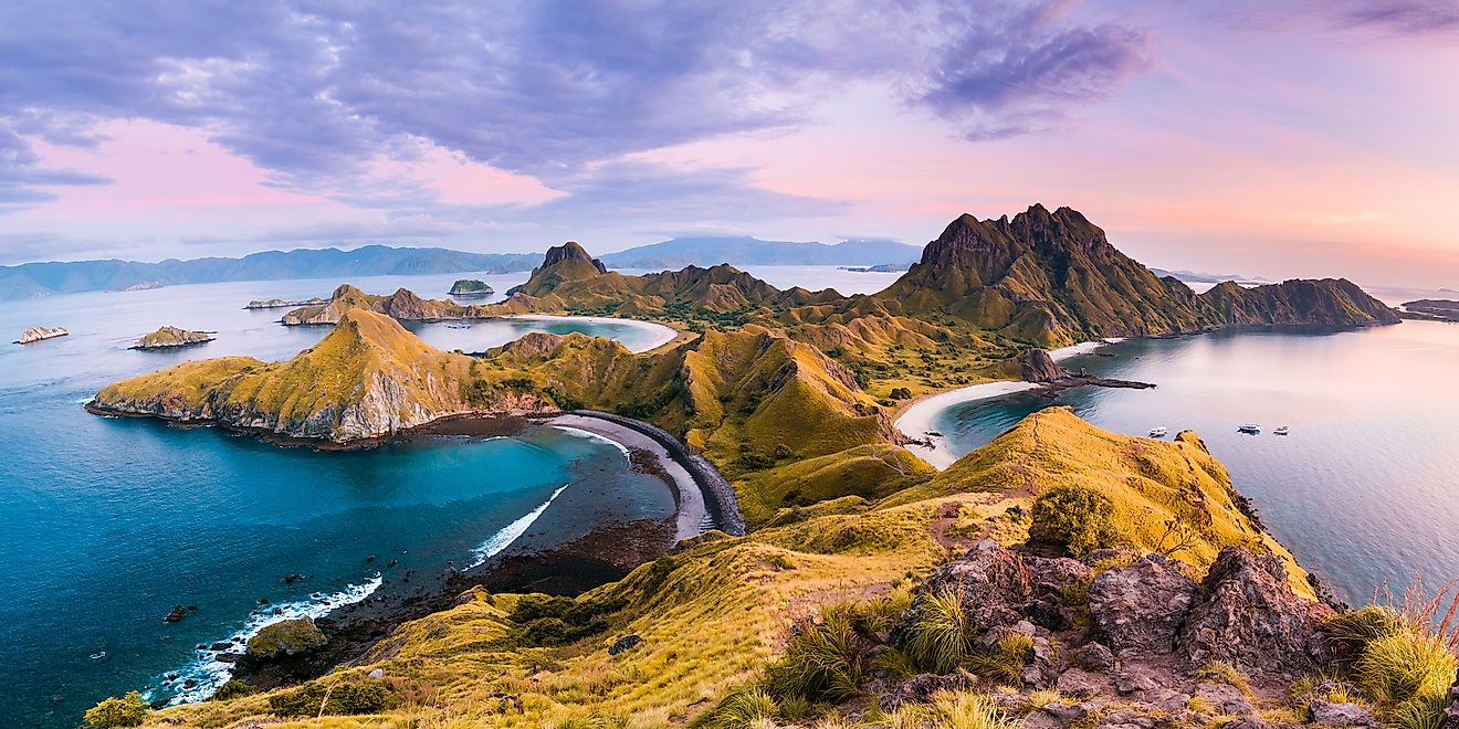 An island in Indonesia, the largest island country in the world.