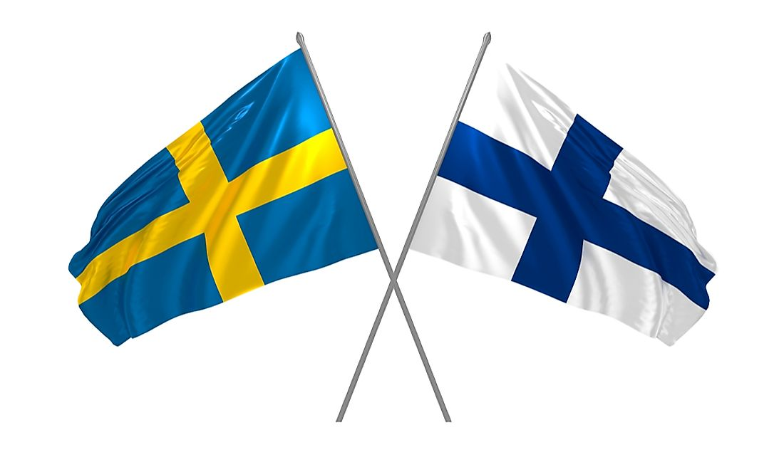 Although politically neutral, Sweden maintained close ties with Finland during WWII.