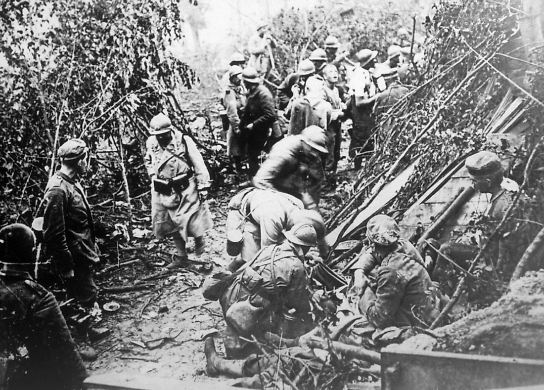 The First Battle of Marne ended with around 500,000 casualties from both sides.