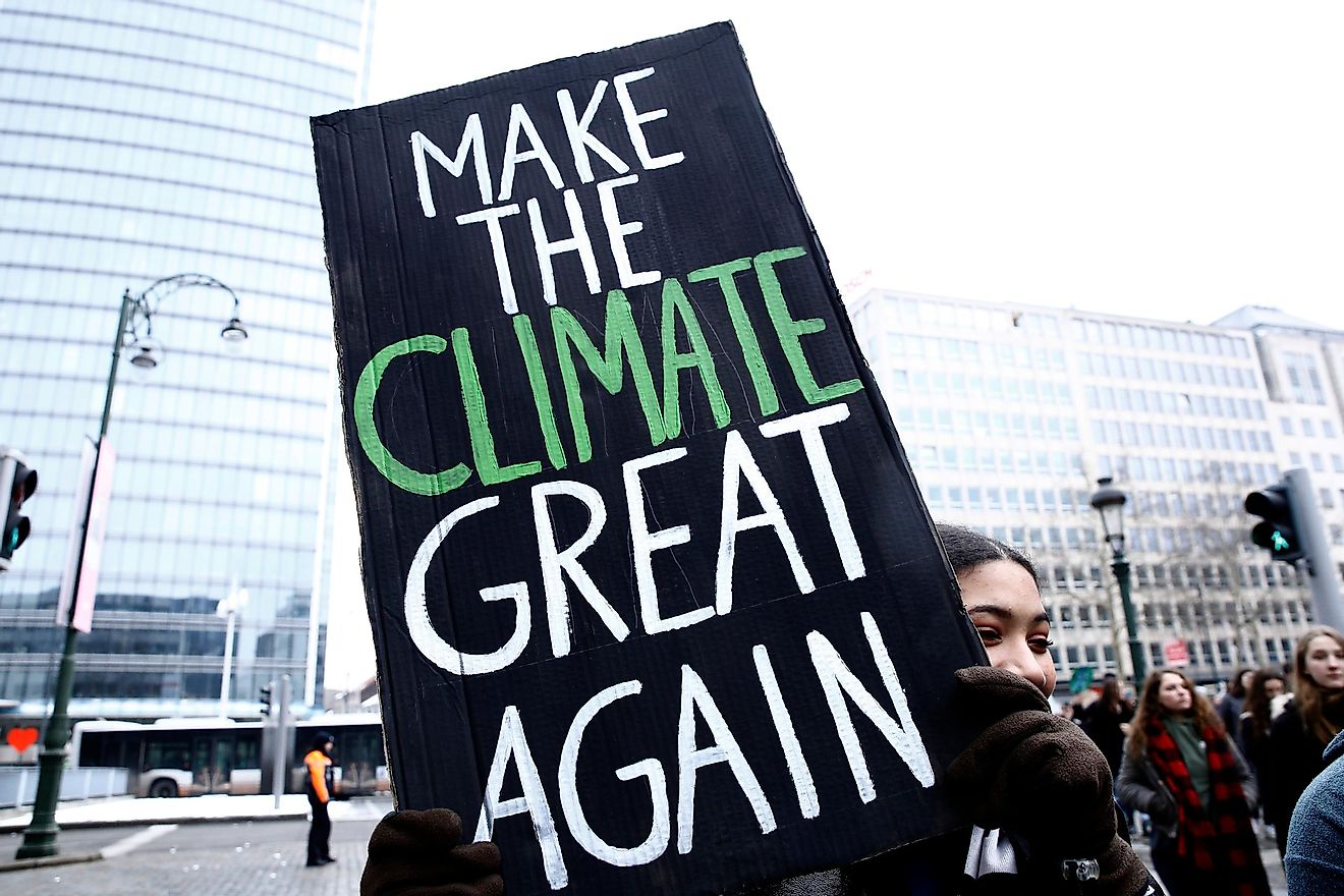 Climate change is happening; it is real. Credit: Alexandros Michailidis / Shutterstock.com
