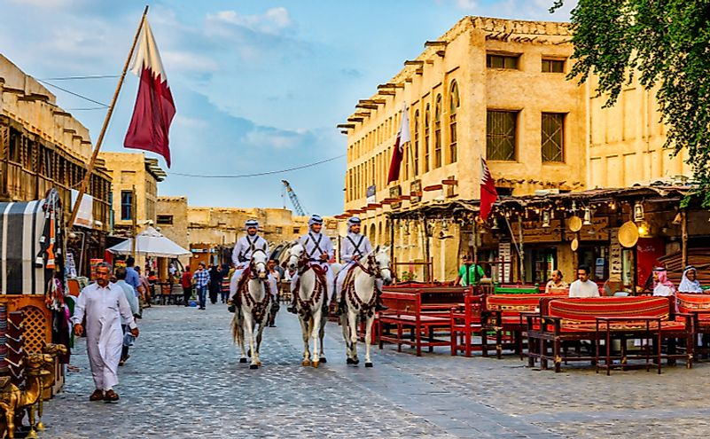 Souq Waqif is a souq in Doha, in the state of Qatar. Editorial credit: Faris AlAli Photography / Shutterstock.com