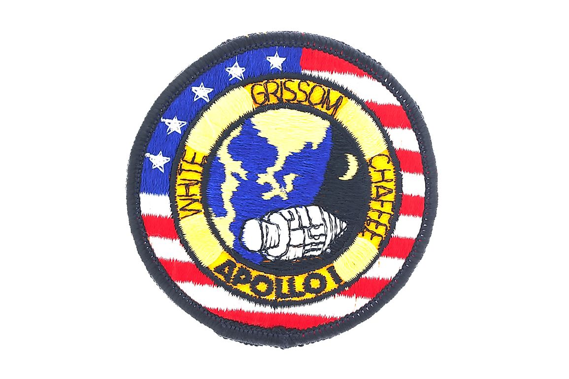 Mission badge from the Apollo 1 space flight.