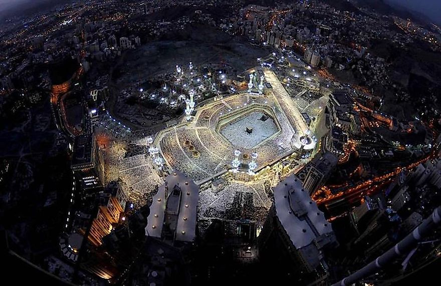 Masjid al-Haram surrounds Islam's holiest place, the Kaaba