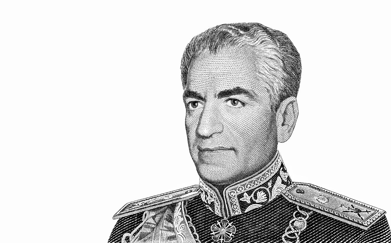 "Mohammad Reza Pahlavi, the last leader to hold the title of ""Shah""."