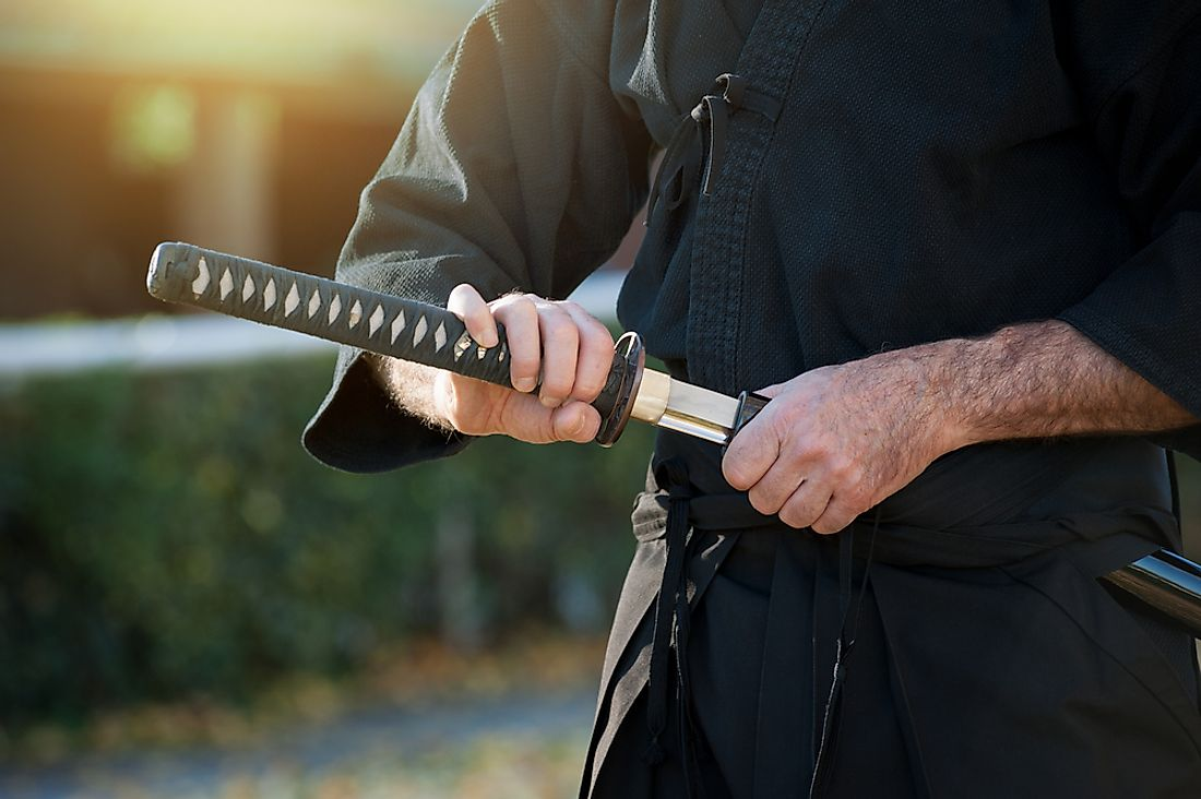 The sword used by the samurai is some of the most well known and iconic weapons in history.